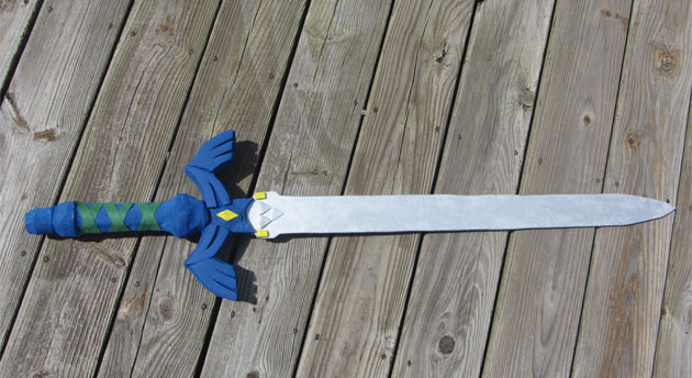 How A Cosplay N00b Made The Master Sword A Photo Tutorial I