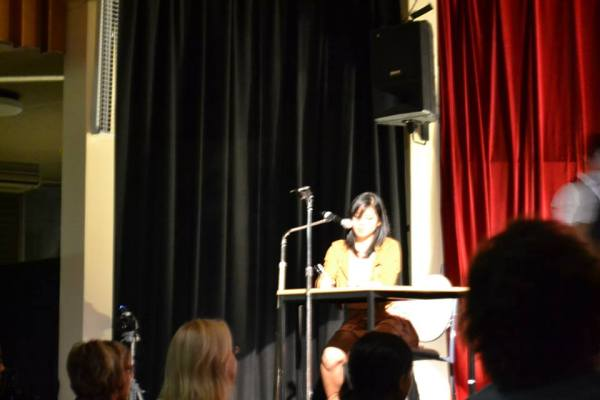 Me on stage!