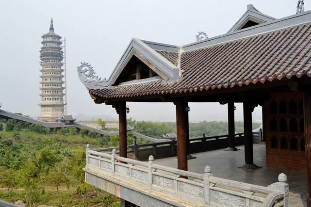 At Chùa Bái Đính, aka the Bai Dinh Temple.
