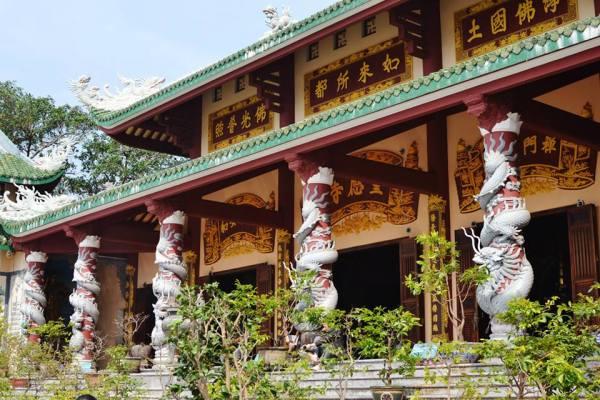 At Chùa Linh Ứng, near Đà Nẵng city.