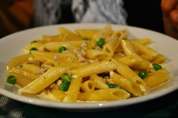 Just some simple penne in Rome. What you'd expect, yet somehow infinitely more delicious than any pasta I've had before!