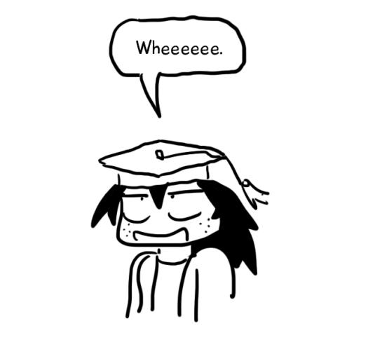 bachelor degree cartoon